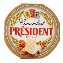 Pelės. sūris su graik. rieš. PRESIDENT, 120g