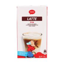 Pienas TERE UHT Latte, 2,5 % rieb., 1 l