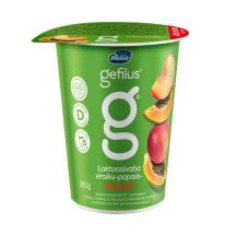 Jogurtas be lakt. su persik. GEFILUS, 2%,380g