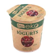 Jogurts Baltais ar ķiršiem EKO 350g