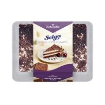 Selgas cepumu kūka ar šokolādi 550g