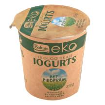 Jogurts Baltais bez piedevām EKO 350g