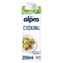 Sojos kremin. gaminys ALPRO, 15% rieb., 250ml