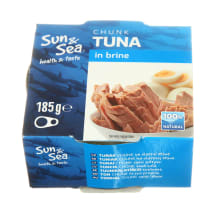 Tunas savo sultyse SUN & SEA, 185 g