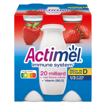 Jogurtijook maasika Actimel 4x100g