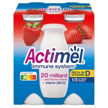 Jogurta dzēriens Actimel zemeņu 4x100g