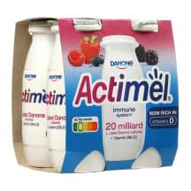 Miško uog. jog. gėrimas ACTIMEL, 1,5%, 4X100g