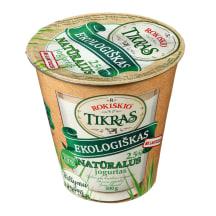 Ekolog. natūralus TIKRAS jogurtas, 3,5%, 300g
