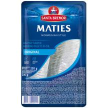 Siļķu fileja Maties oriģinālā 250/200g