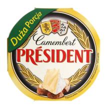 Sūris CAMEMBERT PRESIDENT, 170 g