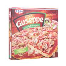 Pica Guseppe ar sēnēm un šķiņķi sald. 425g