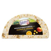 Sūris su mang. apels. WENSLEYDALE, 1kg