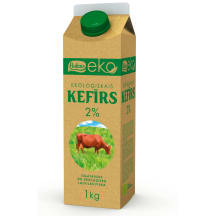 Kefīrs Baltais EKO 2% 1kg
