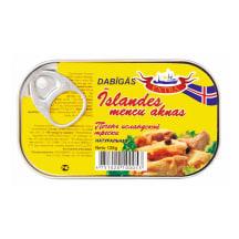 Mencu aknas My sea food Īslandes dabīgās 120g