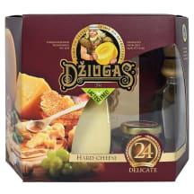 Kiet. švent. sūris su med. DŽIUGAS, 40%, 350g