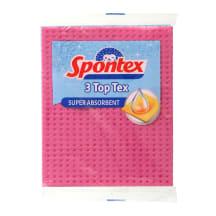 Lupatiņas Spontex Top Tex 3gab 15,5x18,5