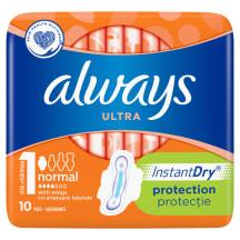Higienin. paketai ALWAYS NORMAL PLUS, 10vnt.