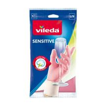 Pirštinės VILEDA Sensitive L, 1 pora
