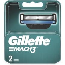 Skustuvo galvutės GILLETTE MACH 3, 2 vnt.