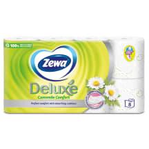 T/p. Zewa Deluxe kumelīšu 3s.,8r.