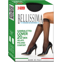 N põlvikud Bellissima Cover 20 nero 3pr