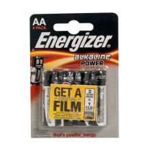 Baterijas Energizer Alkaline Power AA x4