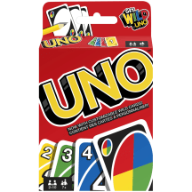 Rotaļlieta spēļu kārtis UNO klasiskās