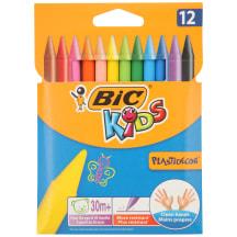 Värvikriidid Bic Plastidecor 12 tk. AW20