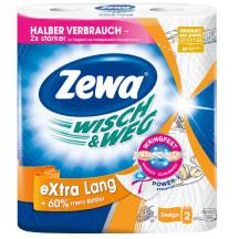 Pap.d. Zewa W&w Extra Lang 72sl.,2k.,2r.
