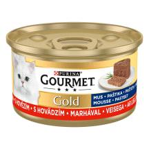 Kons. Gourmet gold liellopu,pastēte,85g
