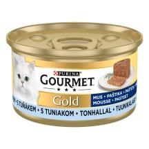 Kassisööt Gourmet tuunikala,pasteet,85g