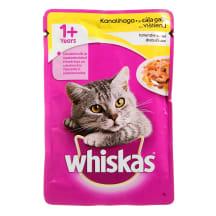 Kons. kaķiem Whiskas ar cāļa gaļu 100g