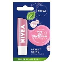 Hügieeniline huulepulk Nivea Pearly 4,8g