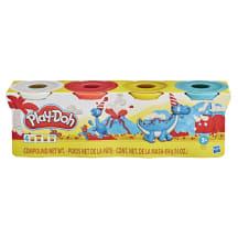 Rotaļlieta plastilīns 4 glāz play-doh