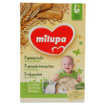Piimapuder teravilja-küpsise Milupa 250g