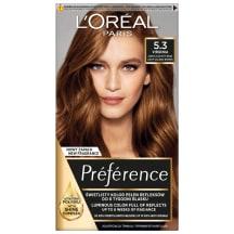 Plaukų dažai L`OREAL PREFERENCE, Nr.  5.3