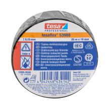 Izoliacinė juosta TESA, juod.,20m x 19mm