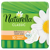 Hig. paketes Naturella Classic Normal 10 gab