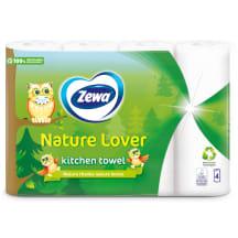 Pap.dv. Zewa Nature Lover 50sl.,2k.,4r.