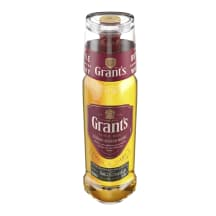 Viskijs W.Grant's ar glāzi 40% 0,7l