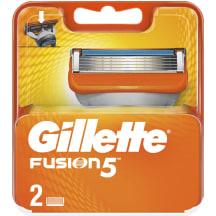 Skūšanās kasetes Gillette Fusion 2 gab.