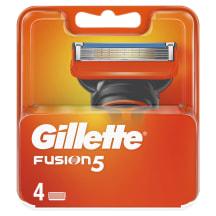 Skustuvo galvutės GILLETTE FUSION, 4 vnt.