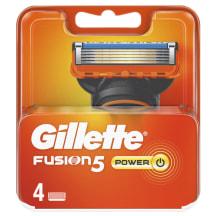 Skūšanās kasetes Gillette Fusion Power 4 gab.