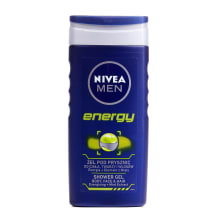 Dušigeel Nivea for men energy 250ml