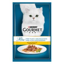 Kons. kaķiem Gourmet perle ar vistas gaļu 85g