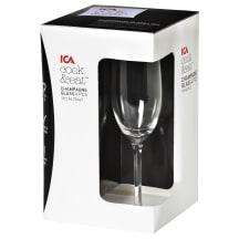 Šampanieša glāzes ICA Cook&Eat 4gab