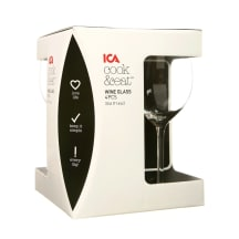Vīna glāzes ICA Cook&Eat 4gab