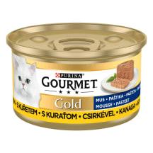 Kons. kaķiem Gourmet gold vistas 85g