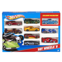 Rotaļlieta 10 mašīnu komplekts HW