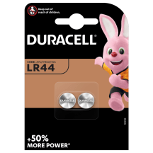 Baterijas DURACELL LR44 2 gab.